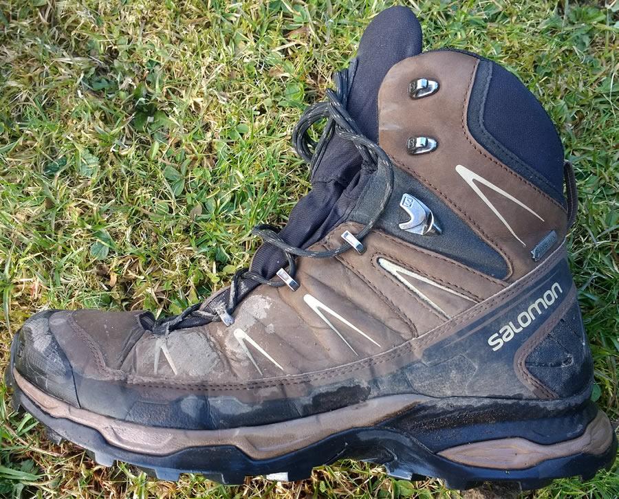 separation shoes 2e540 54e53 Salomon X Ultra Trek GTX Hiking Boot Review 120 mile test