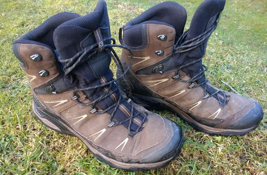 Salomon X Ultra Trek GTX Hiking Boot Review 120 mile test 0994daca954